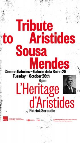 Sessão evocativa de Aristides de Sousa Mendes em Bruxelas